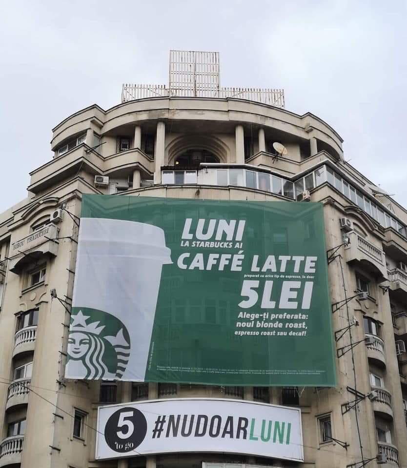 Cafea la 5 lei